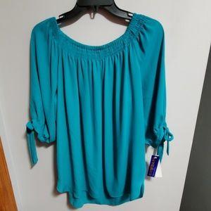 NWT Peter Nygard  Chiffon blouse 10